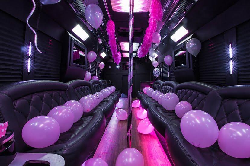 San Diego party bus